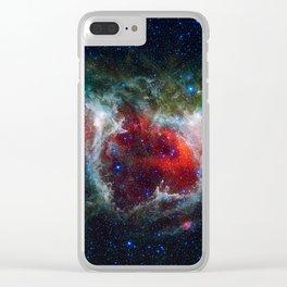 Soul Nebula Clear iPhone Case