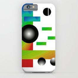 Shape, Color, 1 iPhone Case