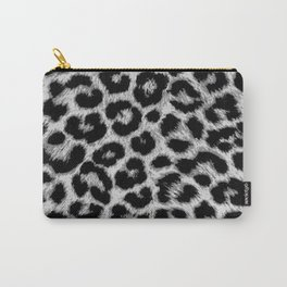 ReAL LeOparD B&W Carry-All Pouch