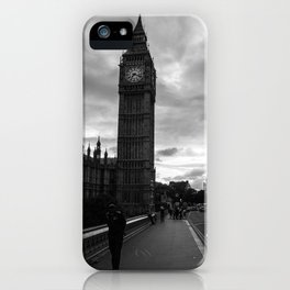 Guarding the Clock iPhone Case