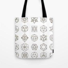 Sacred geometry Tote Bag