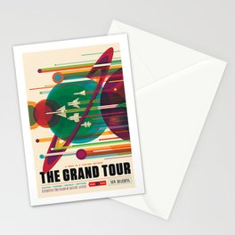 Grand Tour NASA Travel Stationery Cards