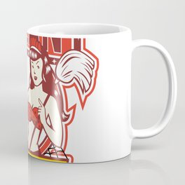 Twin Cleaners Clean 1950s Retro Coffee Mug