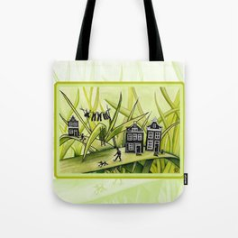 The Green Grass of Home #1 Tote Bag