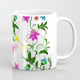 spring ornaments flowers Coffee Mug