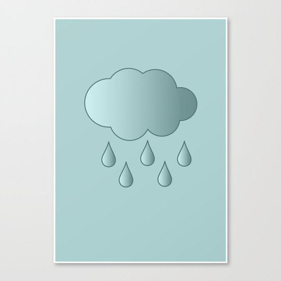 Baby Cloud Canvas Print