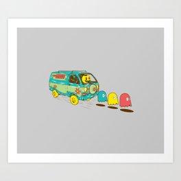 Loan Van Art Print