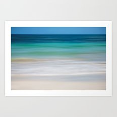 SEA ESCAPE Art Print