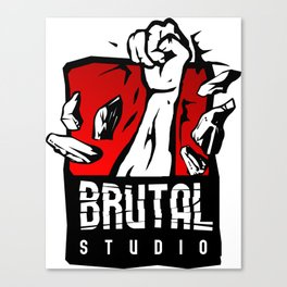 Brutal Studio Logo Canvas Print