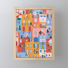 we're all in this together Framed Mini Art Print