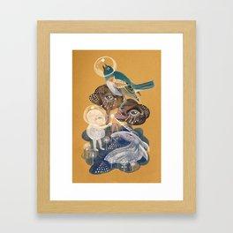 Sharing the Light Framed Art Print