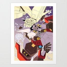 Broken Outcast Art Print