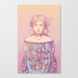 Kikazaru Sister Canvas Print