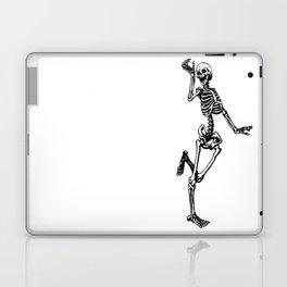 Dancing Skeleton Laptop & iPad Skin