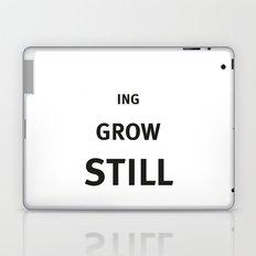 Still growing Laptop & iPad Skin