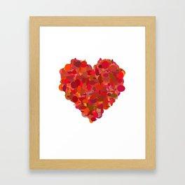 big heart 05 Framed Art Print