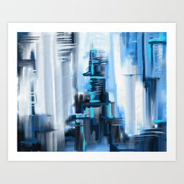 The World that Never Was Art Print
