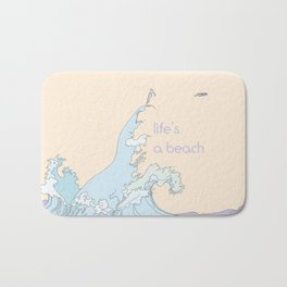 Life's a Beach Bath Mat