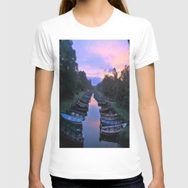 Early Morning at the Boat park T-shirt