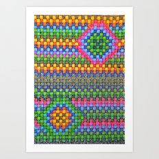 Triangle Beauty Art Print