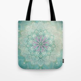 Mermaid Mandala Tote Bag