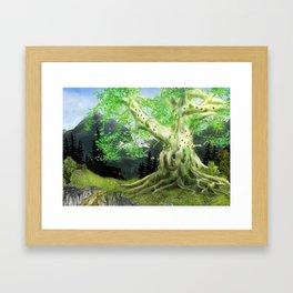 Baumhaus Framed Art Print
