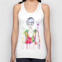 acid Tank Tops featuring acid by Lua Fraga