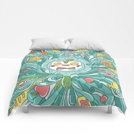 Crazy Breakfast Comforters