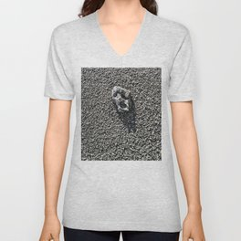 The Last Rock On Earth. Unisex V-Neck