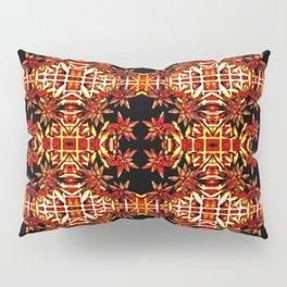 Traditional Christmas Star Pattern Pillow Sham