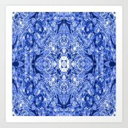 Fun in Blue..... Art Print
