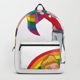 gay couple Backpack