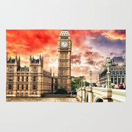 Power of London City Rug
