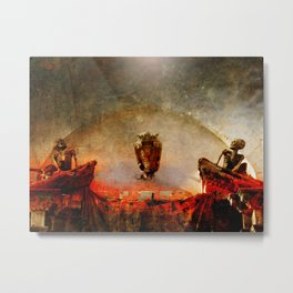 Mater Tenebrarum Metal Print