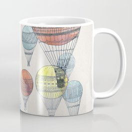 Voyages Hot Air Balloons Coffee Mug