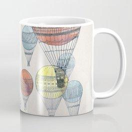 Voyages Hot Air Balloons Coffee Mug