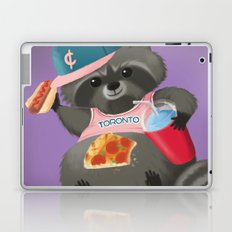 Rad Raccoon Laptop & iPad Skin