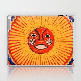 The sun Huichol art Laptop & iPad Skin