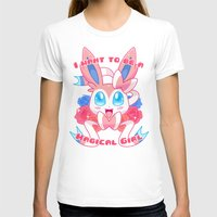 magical girl T-shirts featuring Magical Girl Sylveon by Anjila