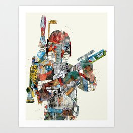 modern wars 3 Art Print