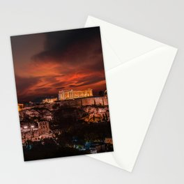 Acropolis Athen Stationery Cards