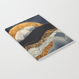 Metallic Mountains Notebook