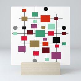 Mid-Century Modern Art 1.3.4 Mini Art Print