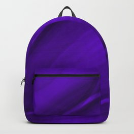 Elliptical bright violet curved lines with catchy ovals of vibrant rings. Backpack