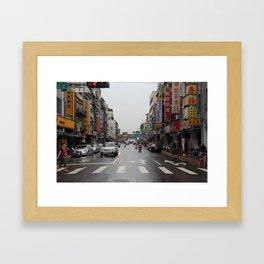 Taipei, Taiwan Framed Art Print
