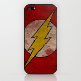 Remember The Flash iPhone Skin
