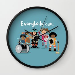 Everybody can. Wall Clock