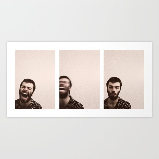 In Other Rooms (Photo Triptych) Art Print