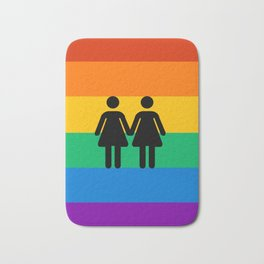 Girl Pride Bath Mat