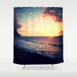Kalalau Sunset Shower Curtain